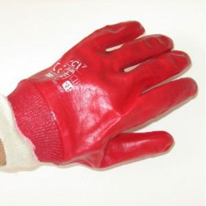 Rękawice PCV ze ściągaczem