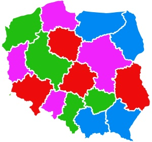 mapa obszarowa